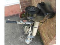 British Seagull Outboard Engine / Motor 5HP for Boat Dinghy Tender