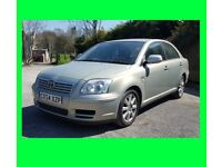 2004 TOYOTA AVENSIS - 54 Plate - 2.0 Diesel - Silver/Gold - MOT Oct 2018