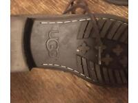 Mens ugg boots size 7 Brown suede