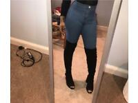 Misspap Overknee black boots