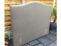 Freestanding King Size Headboard, New / Wrapped.