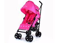 Zeta Vooom Stroller Pink Dots