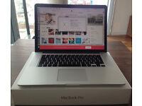 "Apple Macbook Pro 256GB 15"" Retina Display, Mid 2015, as New / Mint Mint condition"
