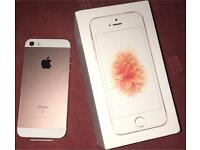 IPHONE SE ROSE GOLD 16GB UNWANTED GIFT LOCKED TO EE NETWORK BRAND NEW IN BOX