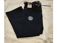 TU Black Bootcut Jeans 16 Tags plus Belt