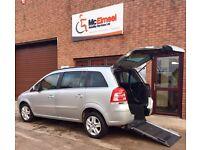 Vauxhall Zafira; Wheelchair Accessible Vehicle