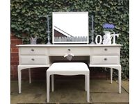 Stag Minstrel Dressing Table & Stool