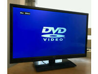 24in Seiki LED TV with Freeview and Built in DVD Player