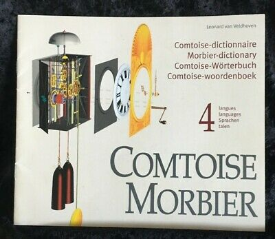 Comtoise Morbier, book dictionary parts French grandfather clocks +6x3D-drawings