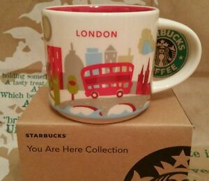 Starbucks Coffee Mug/Tasse/Becher LONDON You Are Here/YAH, NEU!!! Mit SKU i.Box!