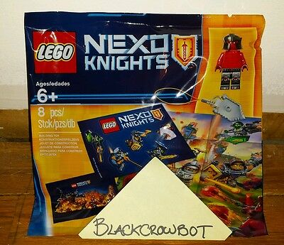 Lego Nexo Knights Intro Pack 5004388 Lego Store Exclusive PolyBag Brand New