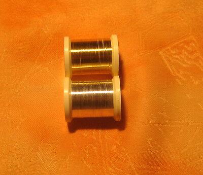 Tinsel Metall Französisch, Draht fein (Französisch Draht)