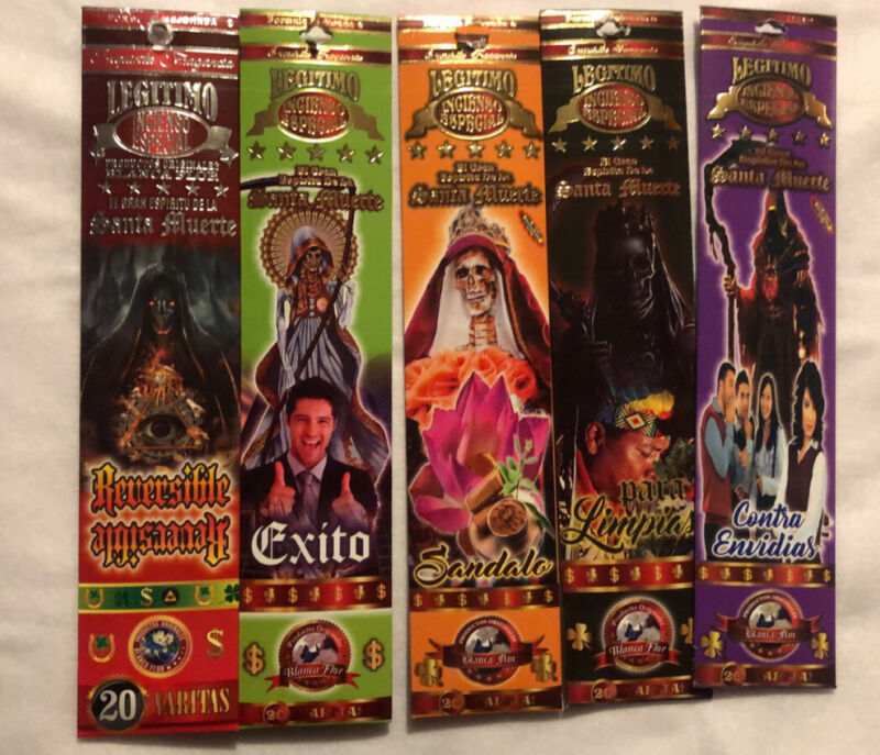 santa muerte incense Kit