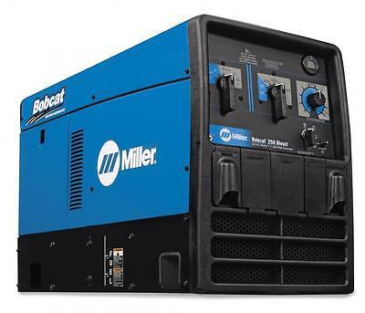 Miller Bobcat 250 Diesel Welder Generator Kubota Gfci