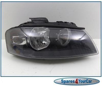 Audi A3 03-07 Drivers Front Headlight Headlamp Part no 8P0941004C