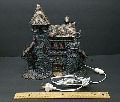 Universal Studios MONSTERS Department 56 Dracula's Castle Lights Up CASTLE ONLY