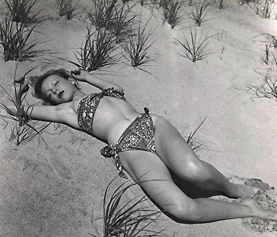 Philippe Halsman Bikini, Beach, Fashion 11x14 Stamped B&W Photograph