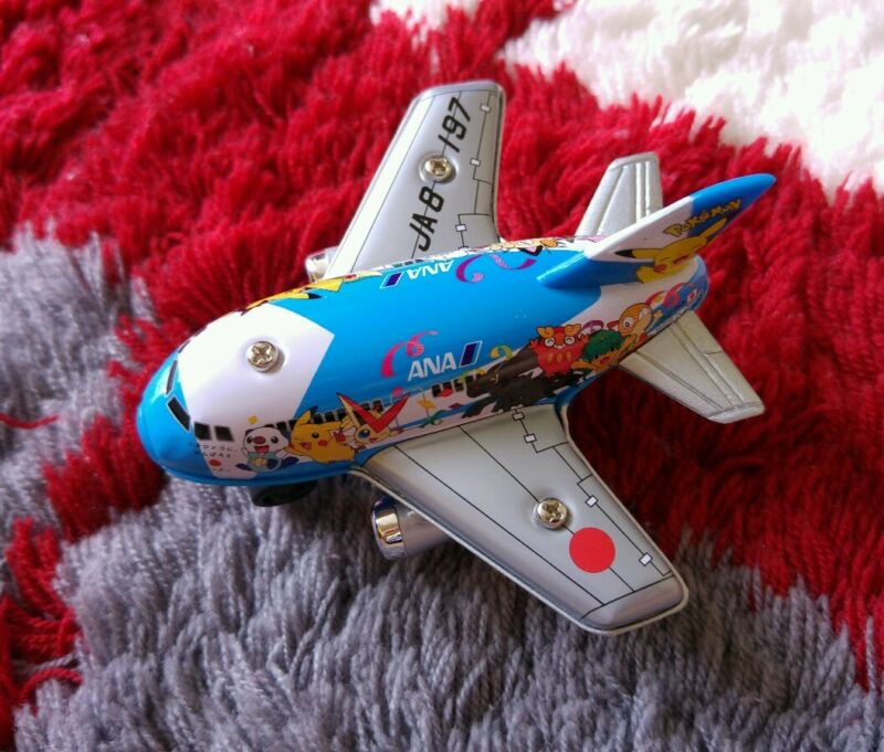 Pokemon Jet '99 ANA Mini Pullback Plane TOMY  Pocket Monster.Boys