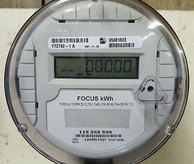 240 Volt Residential Meter Landis Gyr Focus