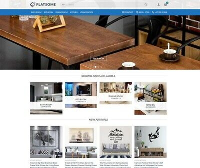 Turnkey Dropshipping Home Dcor Interior Products Website Store Free Hoosting