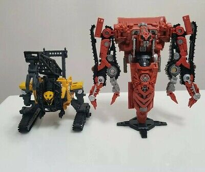 Transformers Studio Series RAMPAGE #37 & HIGHTOWER #47 constructicon devastator