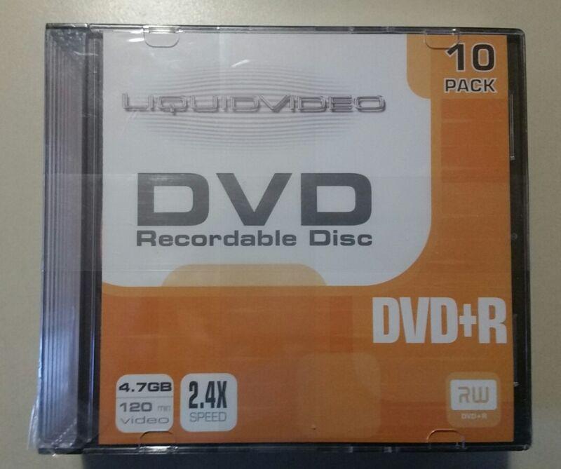 dvd +r package of 10
