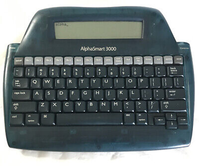 Alphasmart 3000 Portable Desktop Keyboard Laptop Word Processor A1