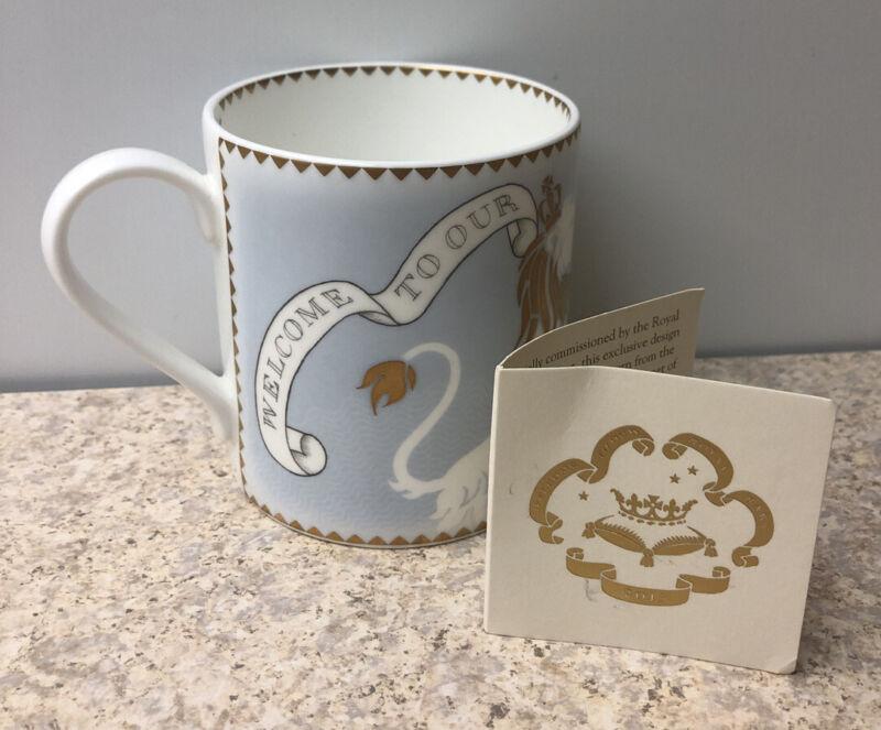 Royal Collection Trust Bone China Commemorative Mug For Prince George 2013