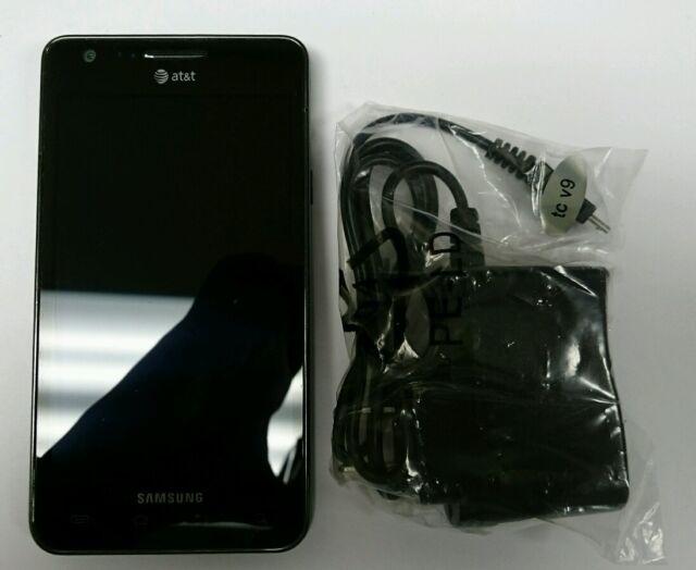 Samsung Infuse SGH-I997 - Caviar Black (AT&T) Smartphone Clean IMEI/ESN
