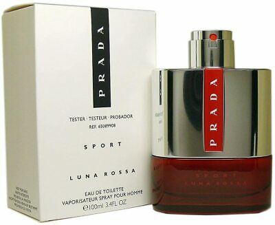 Tester Men Prada Luna Rossa Sport By Prada cologne EDT 3.3 / 3.4 oz New
