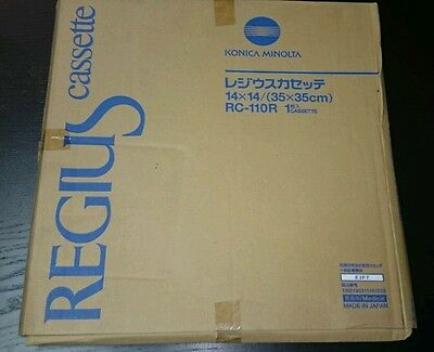 Konica Minolta Regius Cr X-ray Cassette 14x14 35x35cm Rc 110r