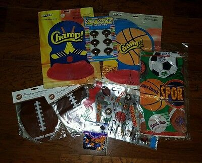 Football Tailgating Birthday Party Supplies - Tablecloth Candles Party Bags ](Tailgating Supplies)