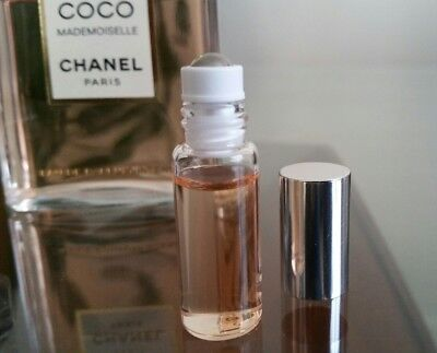 CHANEL COCO MADEMOISELLE INTENSE Perfume EDP Sample Rollerball 3.5 mL