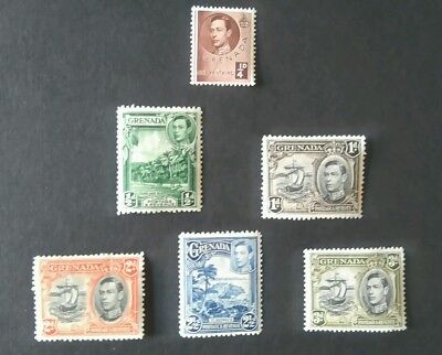 Grenada Stamps Mint light hinged