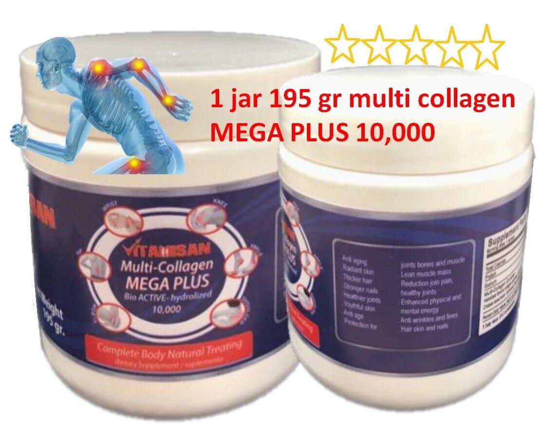 MEGA COLLAGEN PLUS  hydro collagen powder vitaminC colageina 10 colagina 21 XXI