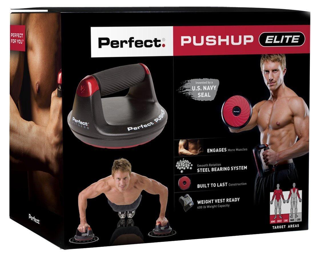 Perfect V2 Pushup Elite Maximum Strength Training Push Up...