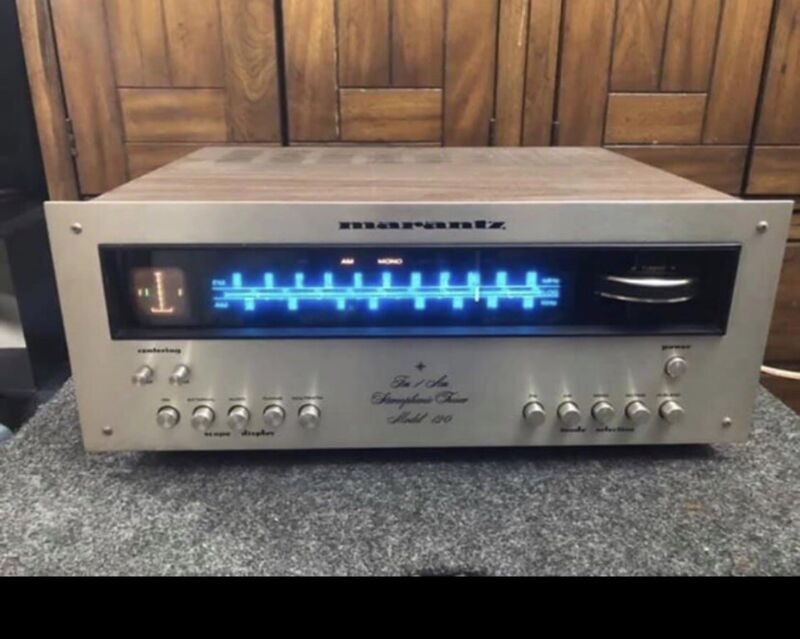 Vintage Marantz 120 AM/FM Stereophonic Tuner With Working Ocilliscope - Nice!!!!