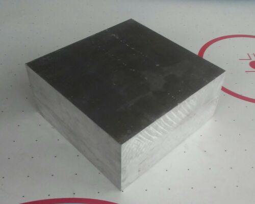 """2"""" X 4"""" X 4"""" long new 6061 T6511 solid aluminum stock plate"""