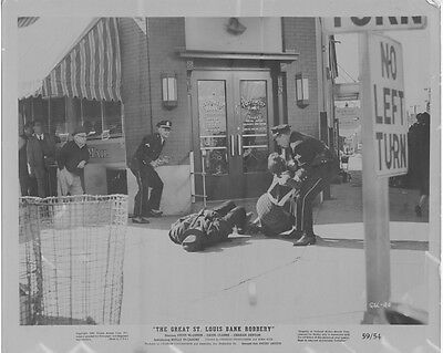 The Great St  Louis Bank Robbery Original 1958 Movie Lobby Photo Southwest Bank