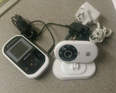 Motorola Mbp18 Digital Lcd Colour Video Sound Baby Monitor Camera
