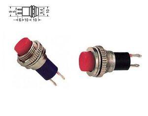 BOToN-MINIATURA-ROJO-DE-PANEL-0-5-A-125-normalmente-abierto-interruptor