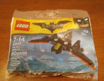 New Sealed LEGO Polybag, 30524: The Mini Batwing.