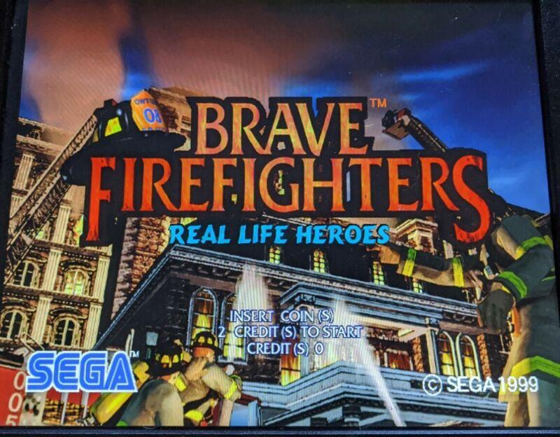 SEGA HIKARU RAM.board tested working brave firefighters. Not Naomi none jamma