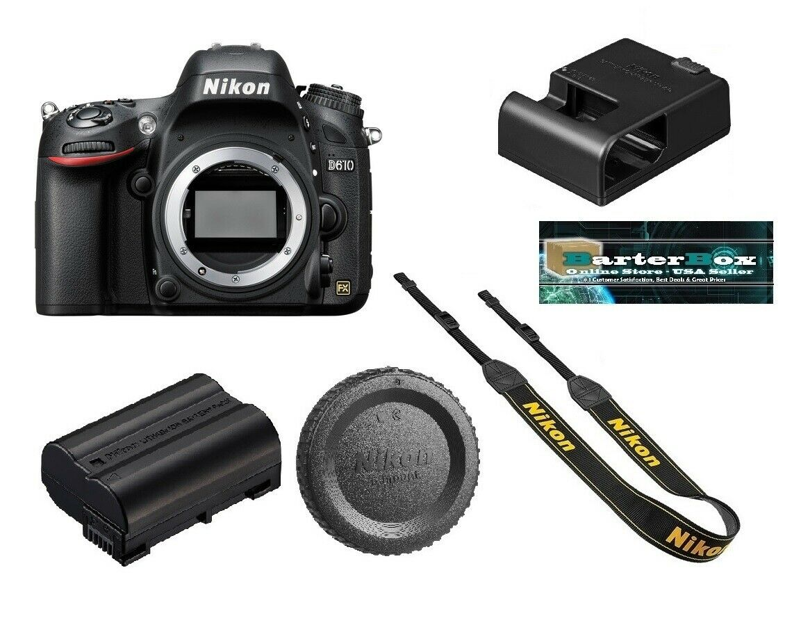 Prime Summer Day Deal Sale Nikon D610 Dslr Camera D 610 Body