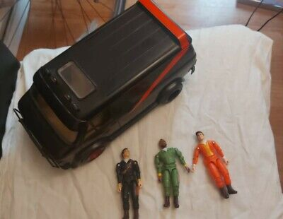 Vintage 1983 A Team Van and figures. 'A TEAM' TV series