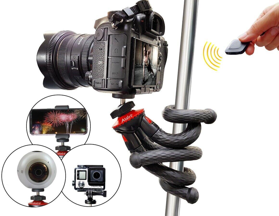 Flexibles Stativ, Reisestativ Mini Kamerastativ f. Spiegelreflexkamera DSLR SLR