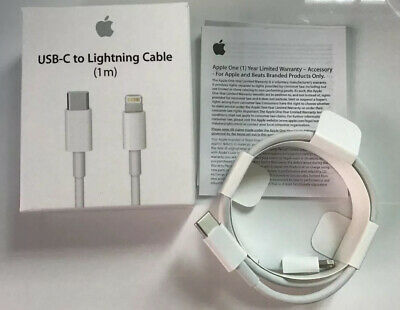 Genuine Apple USB-C to lightning Cable 1 M MK0X2ZM/A iPhone. iPad Mac RRP £19