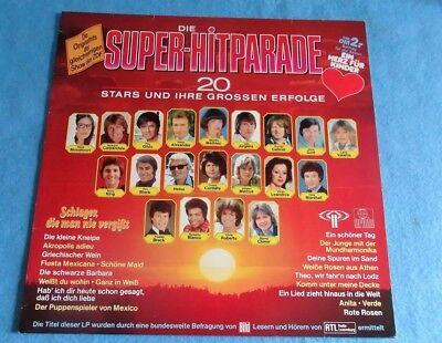 Die Super-Hitparade, 20 Stars und, Vinyl, Gunter Gabriel, Chris Roberts u.a.