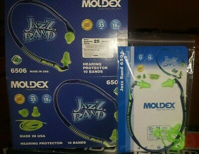 Moldex 6506 Jazz Band Ear Hearing Protector 10eabox