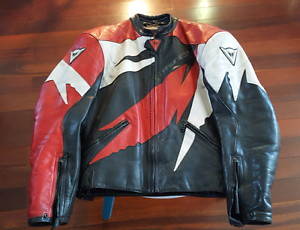 DAINESE MOTORCYCLE JACKET***GREAT CONDITION***SIZE 52 Hazelbrook Blue Mountains Preview